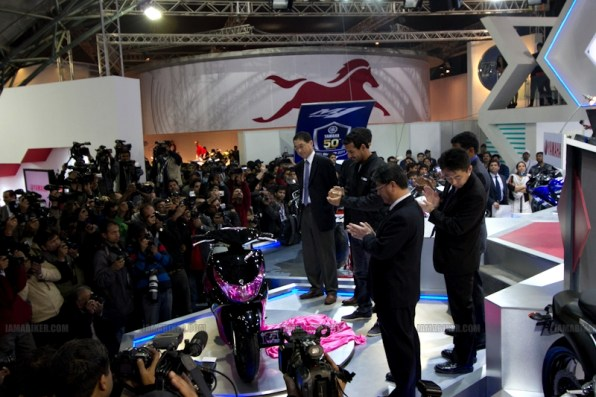 Yamaha Auto Expo 2012 India 16
