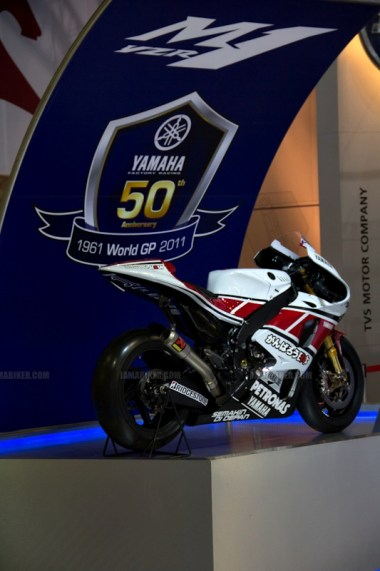 Yamaha M1 Auto Expo 2012 India 7