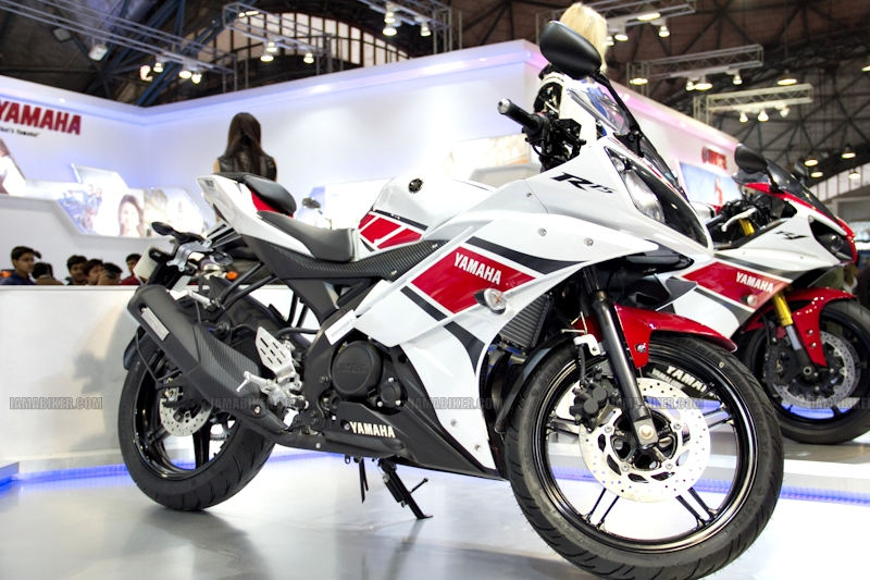Yamaha R15 V 2.0 50th Anniversary edition Auto Expo 2012 India 23