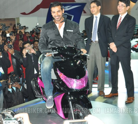 Yamaha Ray with John Abraham