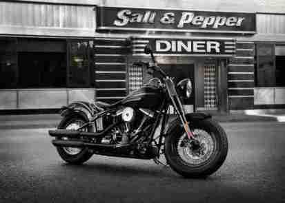 Harley Davidson Sportster Seventy-Two and Softail Slim 01