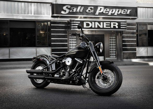 Harley Davidson Sportster Seventy-Two and Softail Slim 01