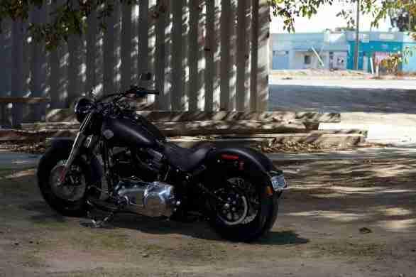Harley Davidson Sportster Seventy-Two and Softail Slim 02