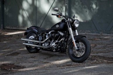 Harley Davidson Sportster Seventy-Two and Softail Slim 03