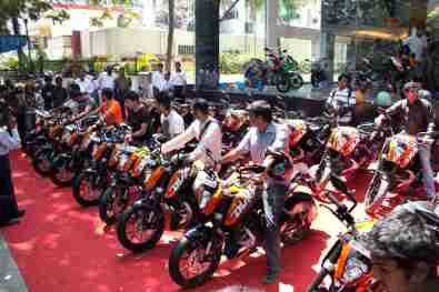 KTM Duke 200 Bangalore launch 24