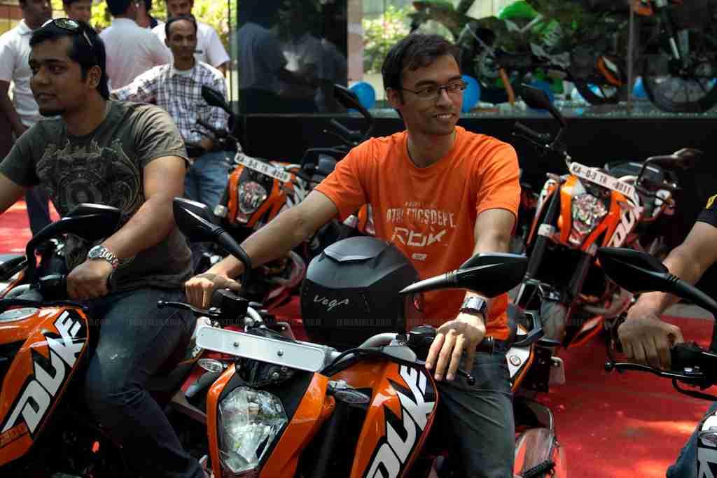 KTM Duke 200 Bangalore launch 27