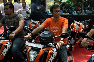 KTM Duke 200 Bangalore launch 27