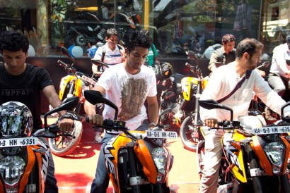 KTM Duke 200 Bangalore launch 29