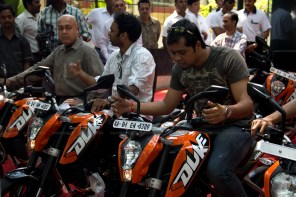 KTM Duke 200 Bangalore launch 35