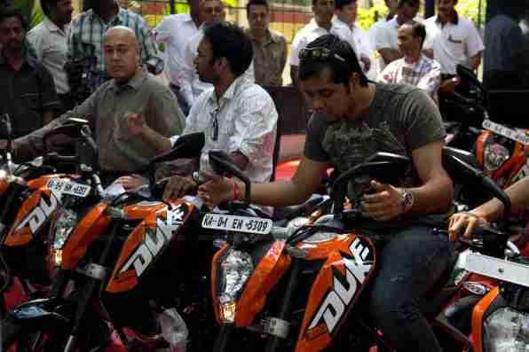 KTM Duke 200 Bangalore launch 35