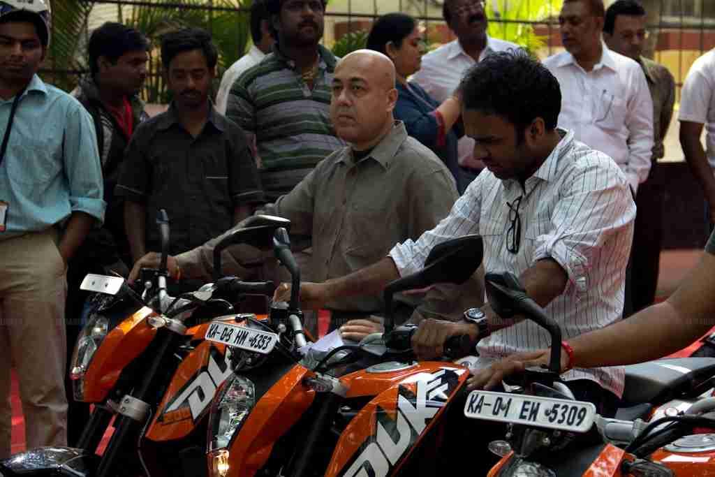 KTM Duke 200 Bangalore launch 36