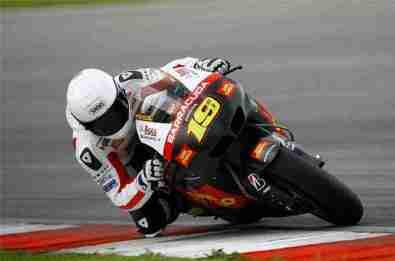 MotoG Sepang testing 2012 10