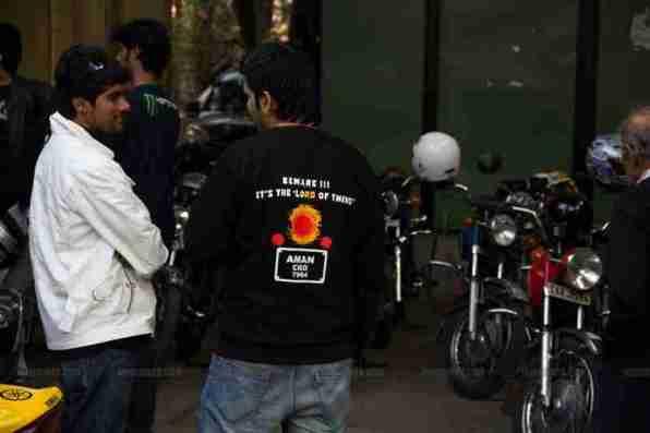 RD 350 club Bangalore 22