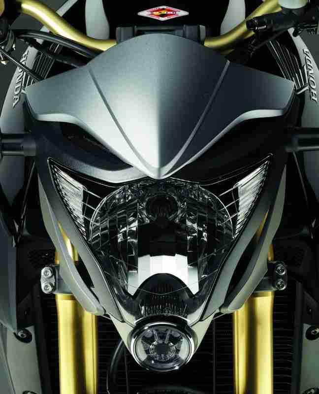 R15 Bike Wallpaper: 2012 Honda CB1000R - Matt Grey And Gold