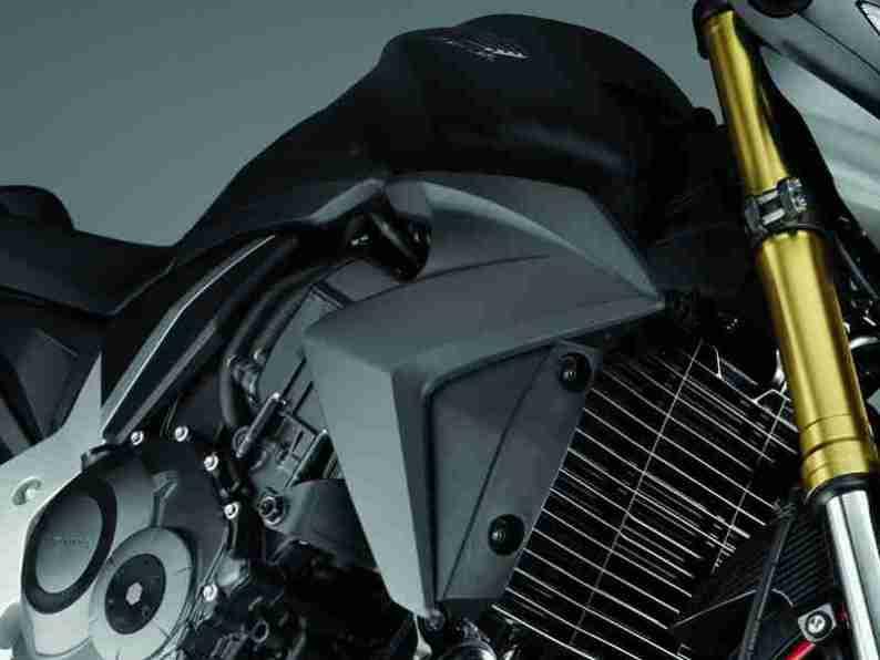 2012 Honda CB1000R - Matt Gray and Gold 08