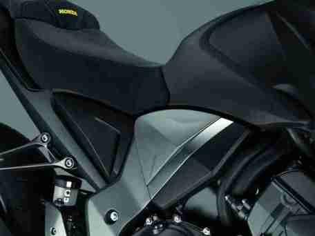 2012 Honda CB1000R - Matt Gray and Gold 09