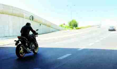2012 Honda CB1000R - Matt Gray and Gold 11
