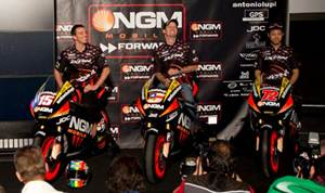 NGM Forward Racing MotoGP and Moto2 2012 team