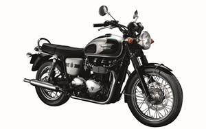 Triumph Bonneville 110th year special edition