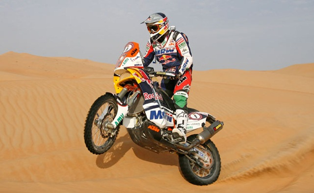 Abu Dhabi Desert Challenge Marc Coma leads stage three