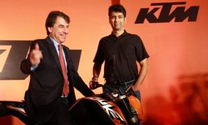 Bajaj increases stake KTM