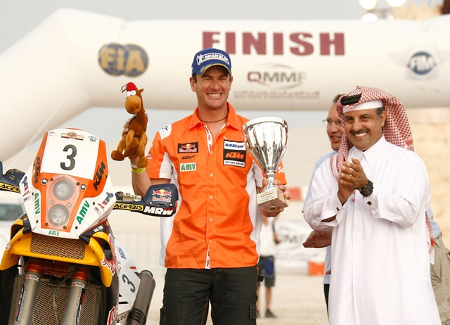 Marc Coma wins Sealine Cross Country Rally