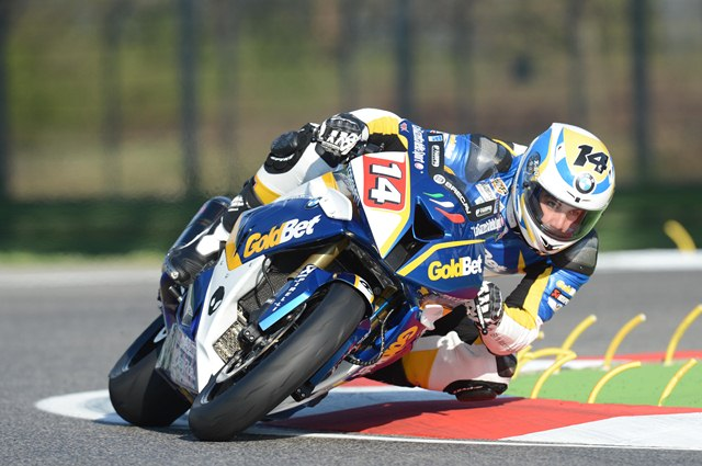 WSBK 2012 Imola BMW Motorrad Italia GoldBet Superbike Team report