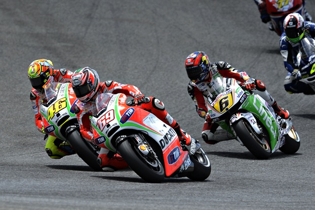 MotoGP 2012 Estoril Ducati race day report