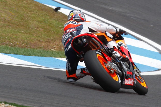 MotoGP 2012 Estoril Repsol Honda FP1 FP2 report