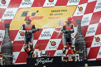MotoGP 2012 Estoril Repsol Honda race day