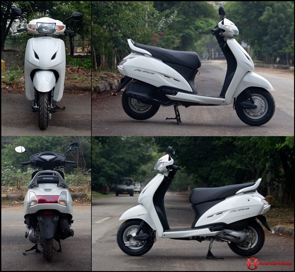 honda activa review road test - looks feel and build quality