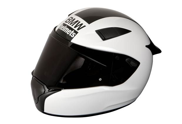 BMW Motorrad develops race helmet for sport motorcyclists