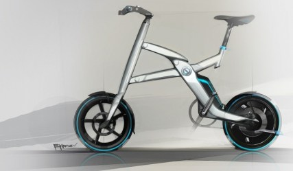 BMW i Pedelec bicycle concept 01