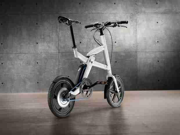 BMW i Pedelec bicycle concept