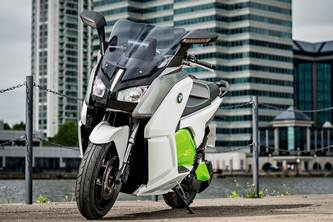 BMW C Evolution scooter image gallery