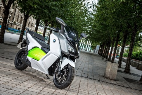 BMW C evolution scooter 04