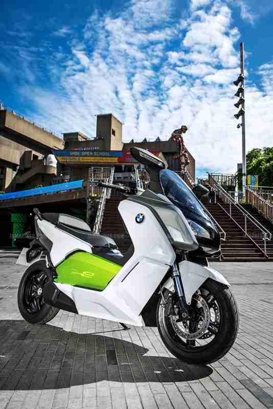 BMW C evolution scooter 09