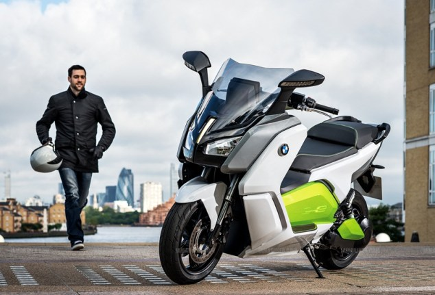 BMW C evolution scooter 11