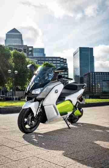BMW C evolution scooter 12