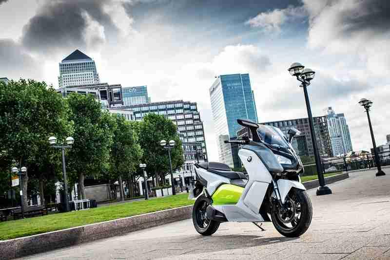BMW C evolution scooter 13