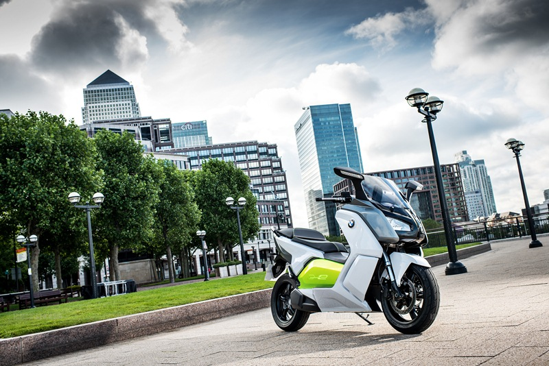 BMW C evolution scooter 13