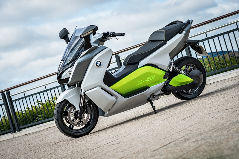 BMW C evolution scooter 15