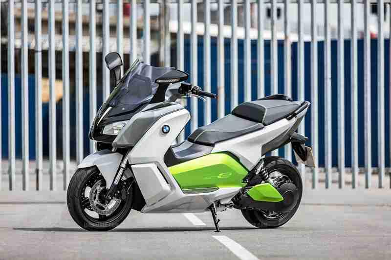BMW C evolution scooter 21