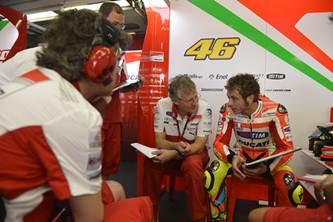 Ducati Mugello test day 1