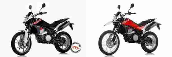 Husqvarna TR650 Terra and TR650 Strada 09