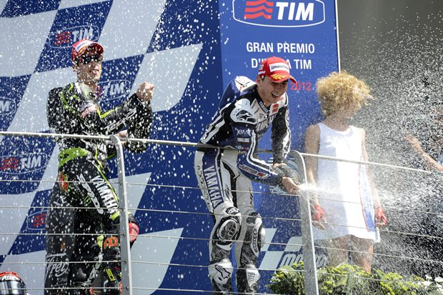 Lorenzo has it easy at Mugello