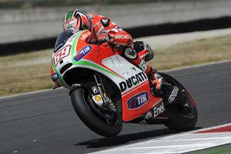 MotoGP 2012 Mugello Ducati qualifying performance