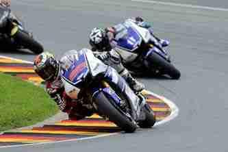 MotoGP 2012 Sachsenring Yamaha race day