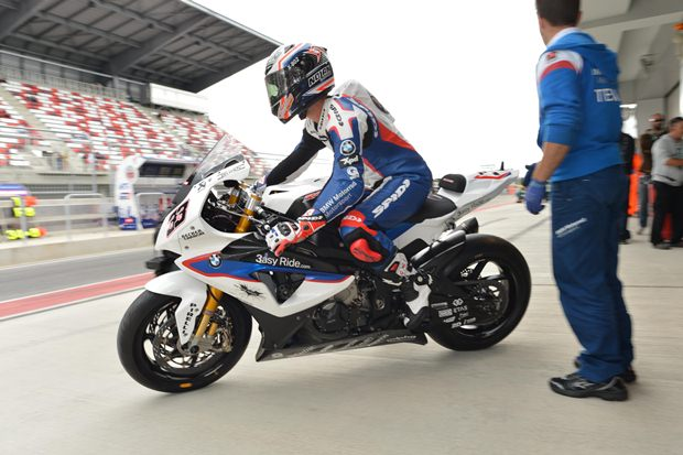 WSBK Moscow BMW Superpole report