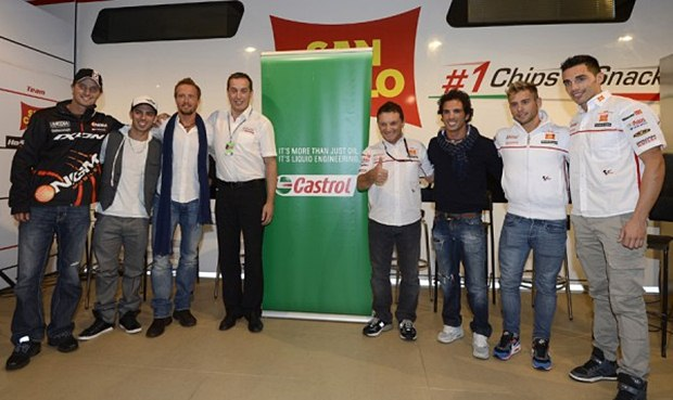 Castrol and Honda Gresini celebrate 10 years